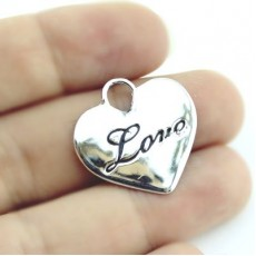 Подвеска Сердце Love #3673