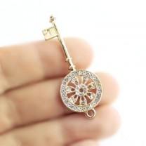 Подвеска Золотой ключ #1149