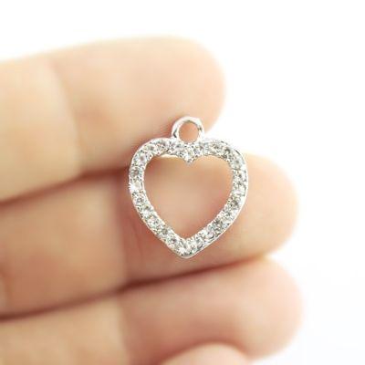 Подвеска Сердце в сразах #5018