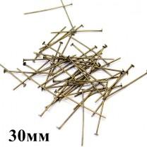 Пины-гвоздики 30 мм 1 гр (8 шт) #1476