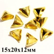 Конус 15х20х12 Золото 1шт #4440