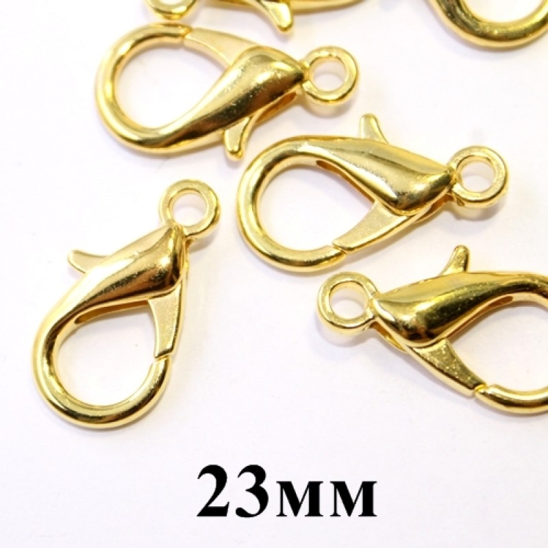 Лобстер 23мм Золотой #5288