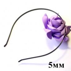 Основа для ободка 5 мм Черная #3305