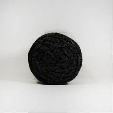 Шнур плоский 5мм  2нити черный #4302