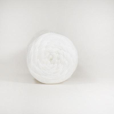 Шнур плоский 5мм 2нити белый #4555