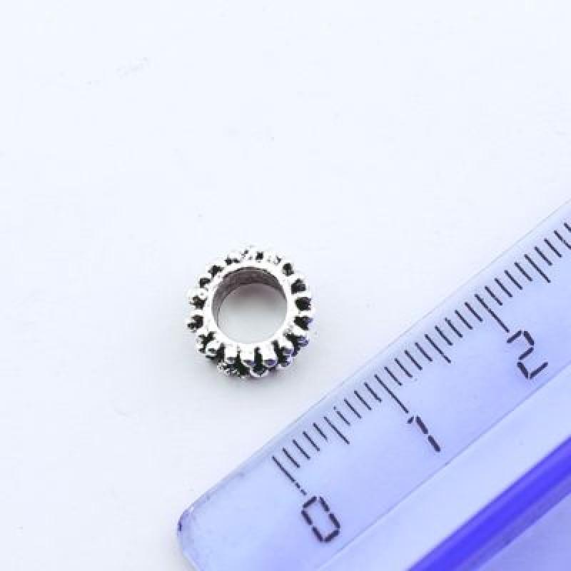 Металлический шарм 10х5 D=5 #1334