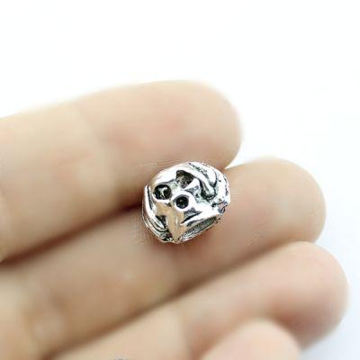 Металлический шарм Пёс 13х9х9х D=5 #1388