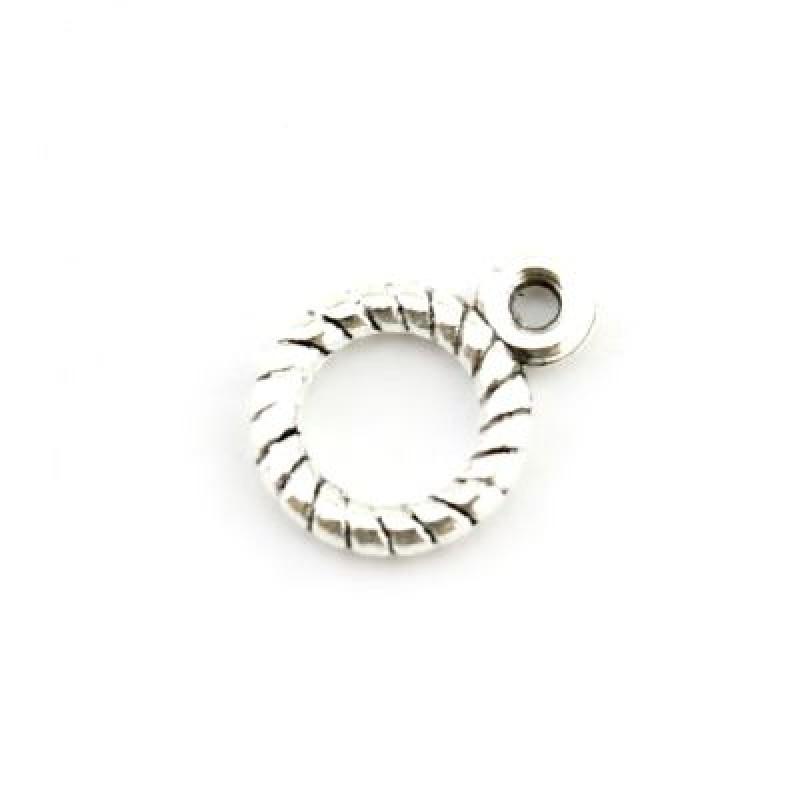Подвеска Кольцо D=9 мм #3734