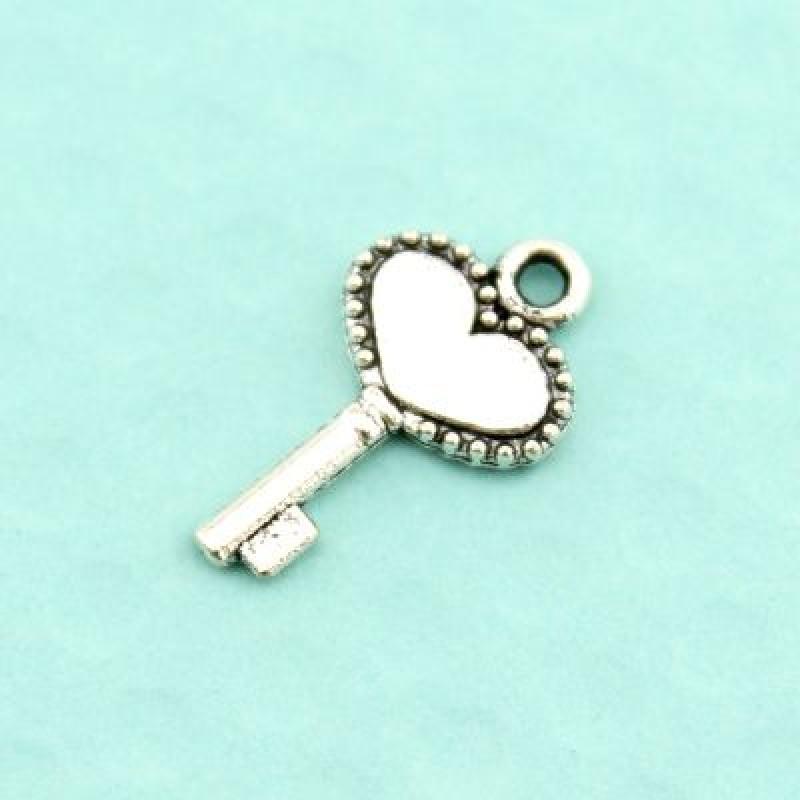 Подвеска Ключ от сердца 18х10 #3864