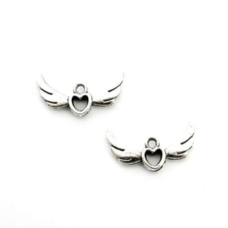 Подвеска Ангельские крылья 15х25 #3884