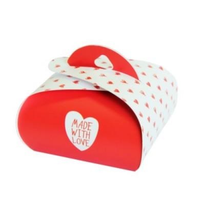 Подарочная Бонбоньерка Made With Love 2 шт #10112