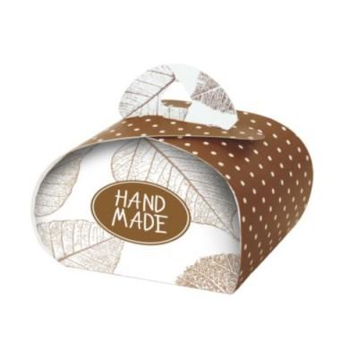 Подарочная Бонбоньерка Hand Made 2 шт в уп #10113
