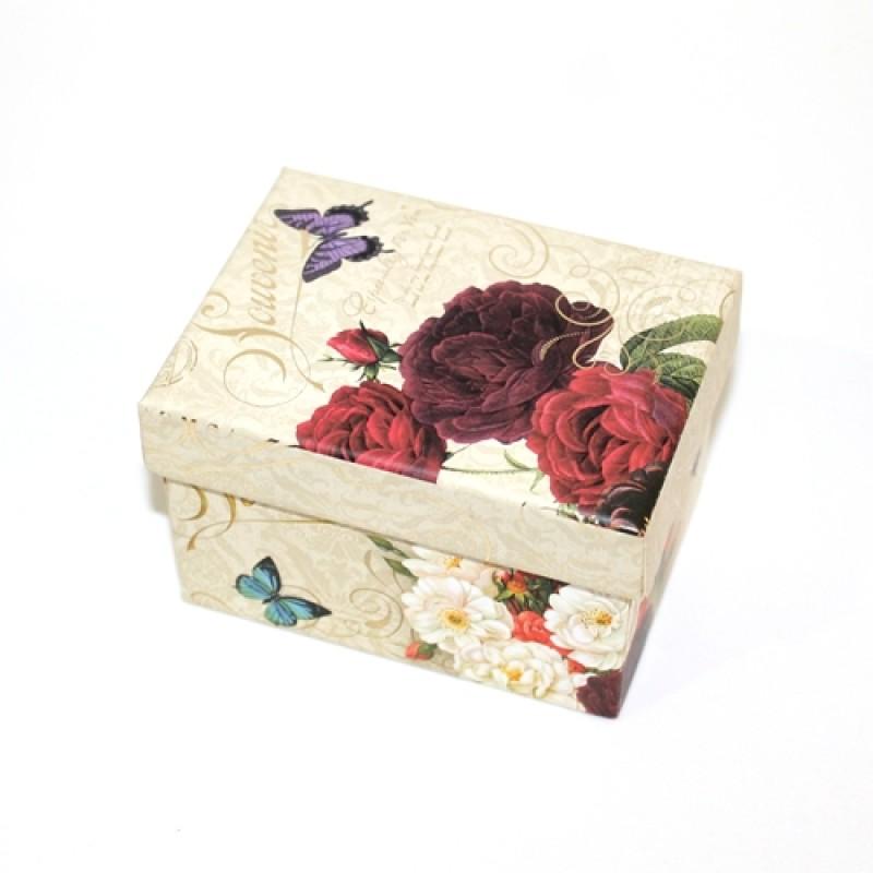 Супер-коробочка 100х75х65мм #10533