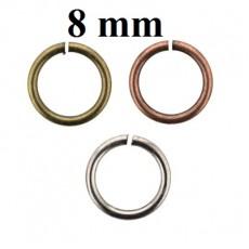 Соед. колечки D=8 мм 1 гр (9 шт) #5344