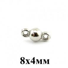 Коннектор 8х4 1 шт #3966