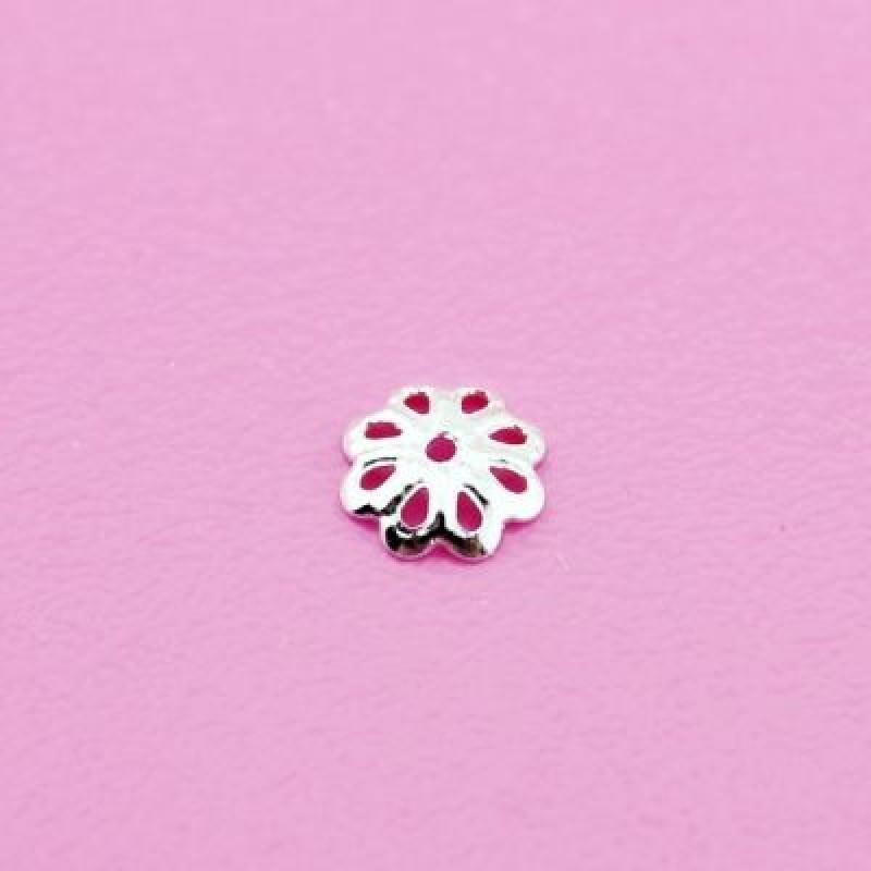 Шапочки 6х2 1гр (16 шт) Серебро #4889