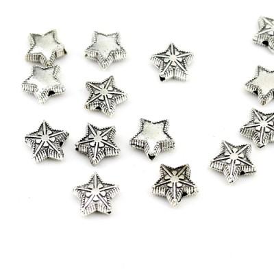 Бусины Звезды 10х4, 1шт #3000