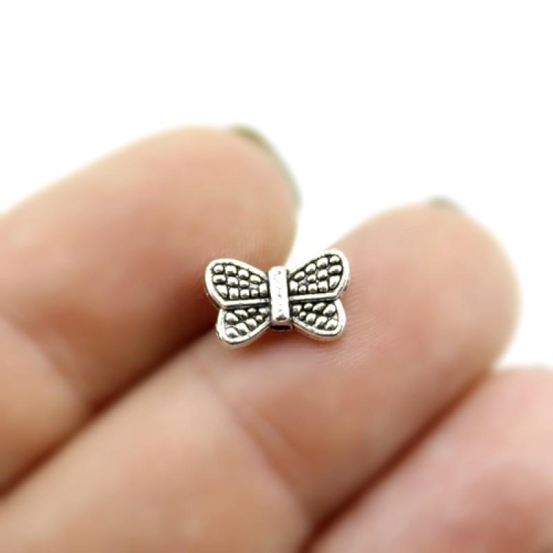 Бусины Бабочка 11х7х3, 1шт  #3003