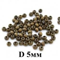 Бусины D=5 мм, 1гр (40 шт) #4057