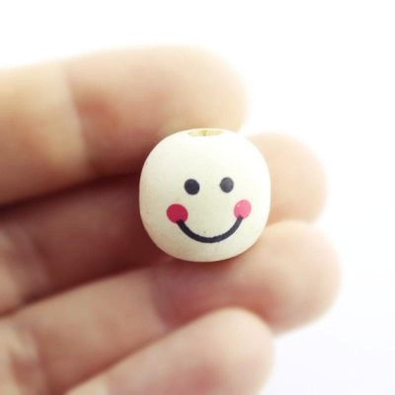 Бусины с улыбкой D=18мм, 1шт #5370