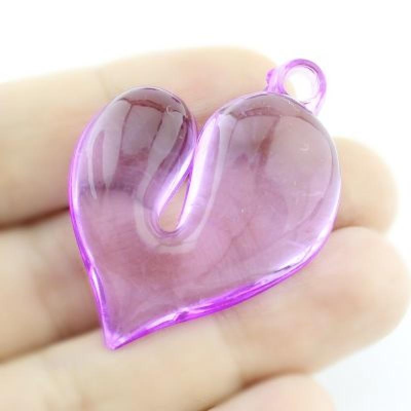 Подвеска Сердце МИКС #3701