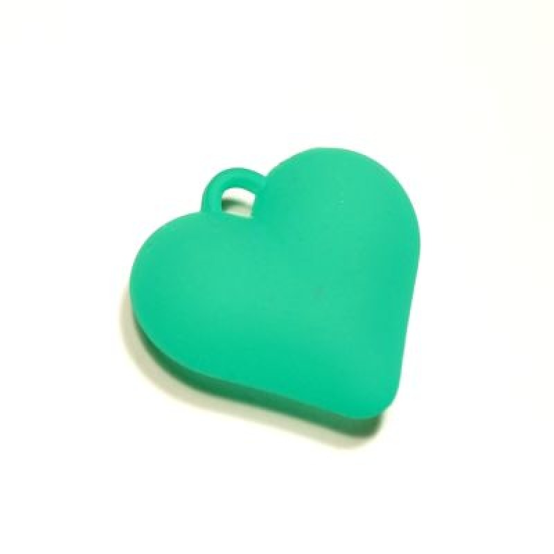 Подвеска Сердце Матовое МИКС #5164