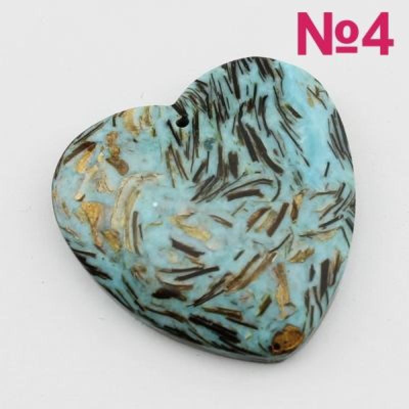 Кулон Сердце 40х40 #2107