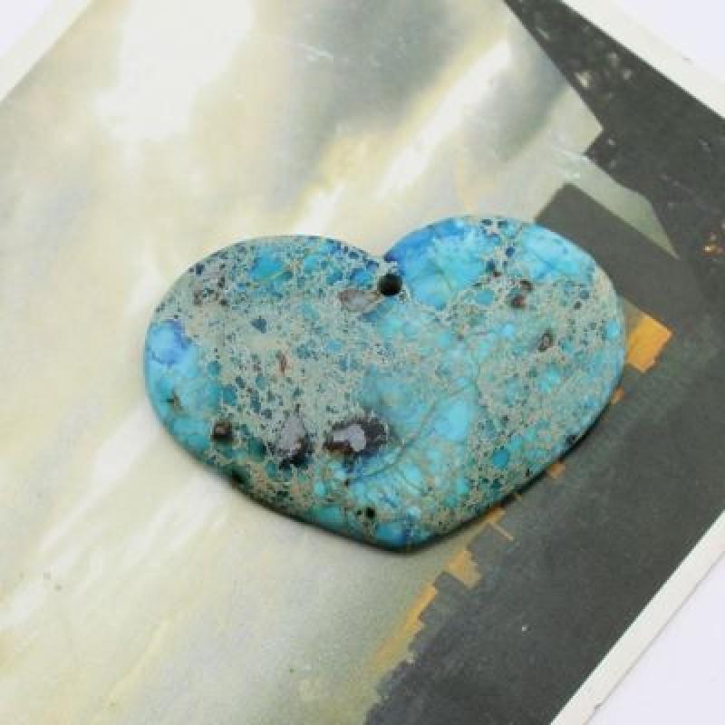 Кулон Большое Сердце 50х35 #2112