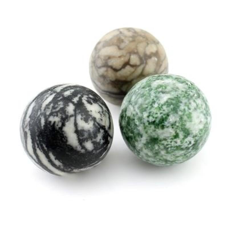 Каменный шар МИКС D=30, 1шт #4498