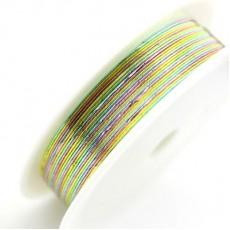 Проволока разноцветная 0,3мм 20 метров #4702