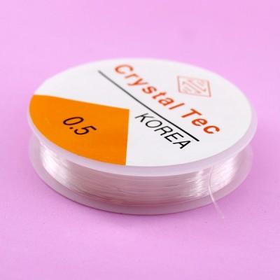Нить-резинка силиконовая 0,5 мм 30 м #2247