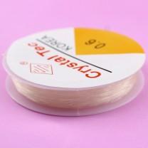 Нить-резинка силиконовая 0,6 мм 20 м #2253