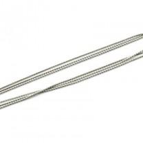 Цепочка 1 мм Серебряная 1 м #2566