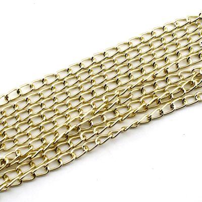 Цепочка 11х6х1,8 мм Золотая #2577
