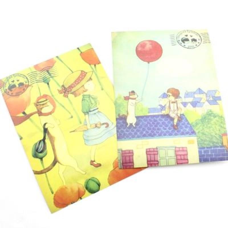 Набор открыток и штампов #2664
