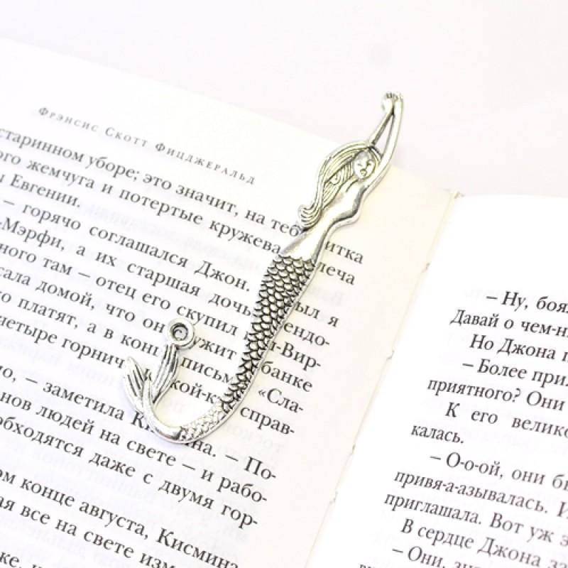 Закладка для книг Русалка 80см #5339