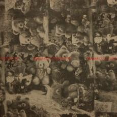 Бумага крафт (двухсторонняя) 74х 52см Мишки #10478
