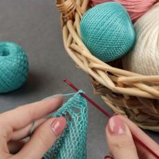 Крючок для вязания, d = 2 мм, 15 см, цвет МИКС #11480