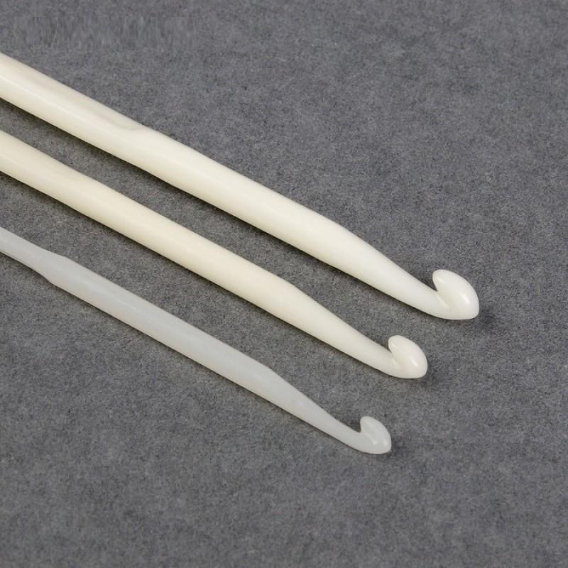 Набор крючков для вязания, d=4-6 мм, 14см, 3шт #11511