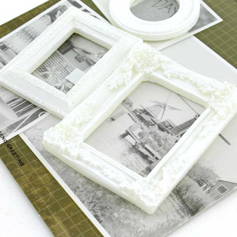 Декоротивные 3D элементы 3шт Рамка для фото #10323