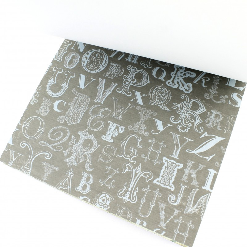 Набор декоративной бумаги 17х17 см Тип4 #10366