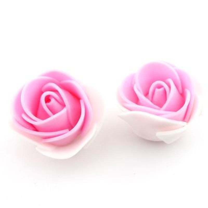 Цветы Бело-розовые #4172