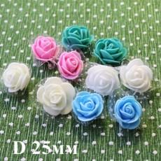 Цветы D=25 в сетке #5513