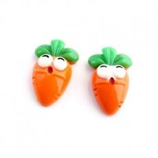 Кабошон Морковка #5418