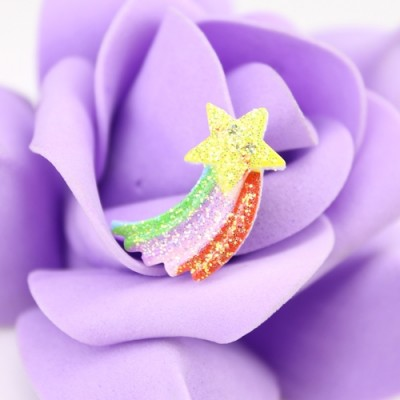 Кабошон радуга и звезда Малая #1312