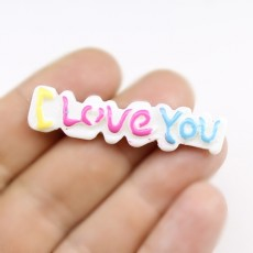 Кабошон I love you #1361