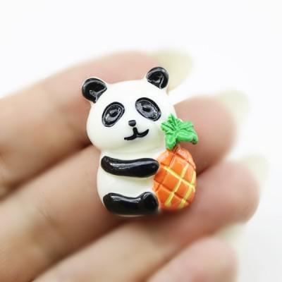 Кабошон Панда с ананасом #5782