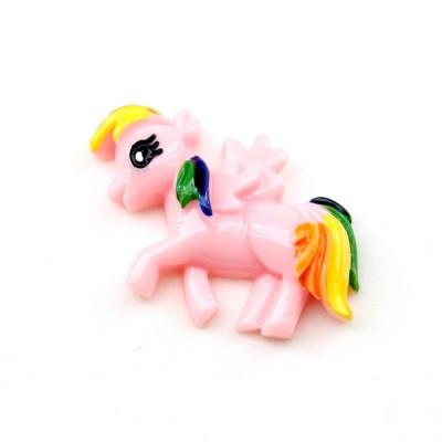 Кабошон Розовый Пони #5756