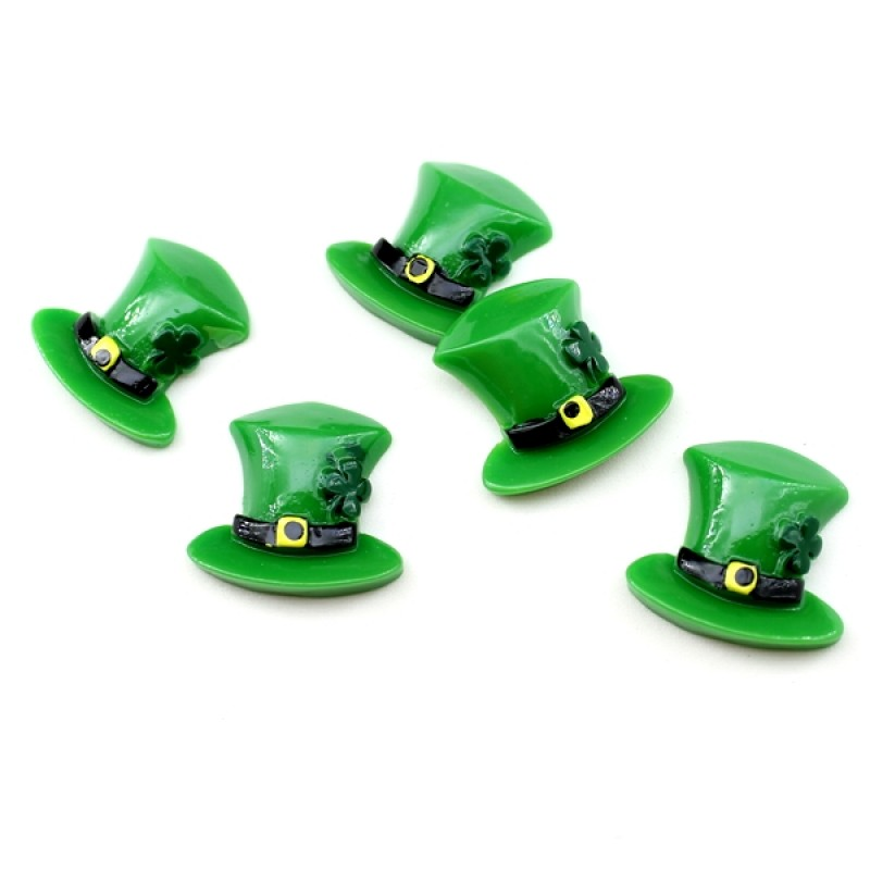 Кабошон Ирландская шляпа #5835