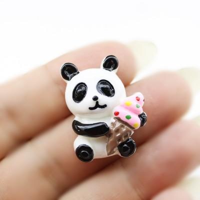 Кабошон Панда с морожкой #5720